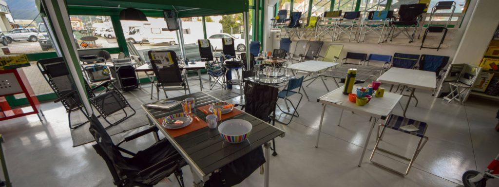 Tavoli E Sedie Da Camper.Mobili Outdoor Dema Camper